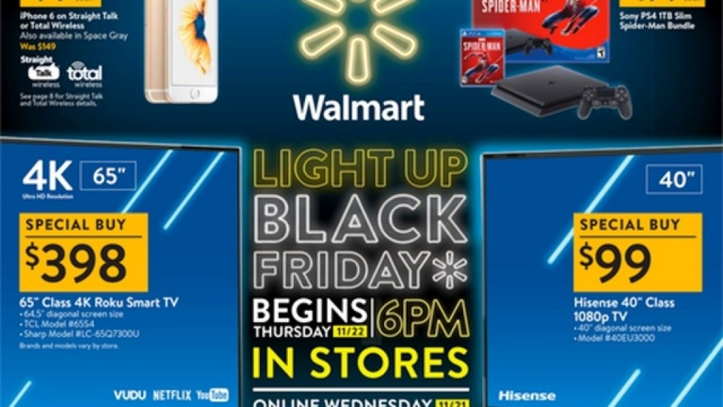 Walmart Black Friday 2018 Ad Is Out - Printable Walmart Black Friday Map
