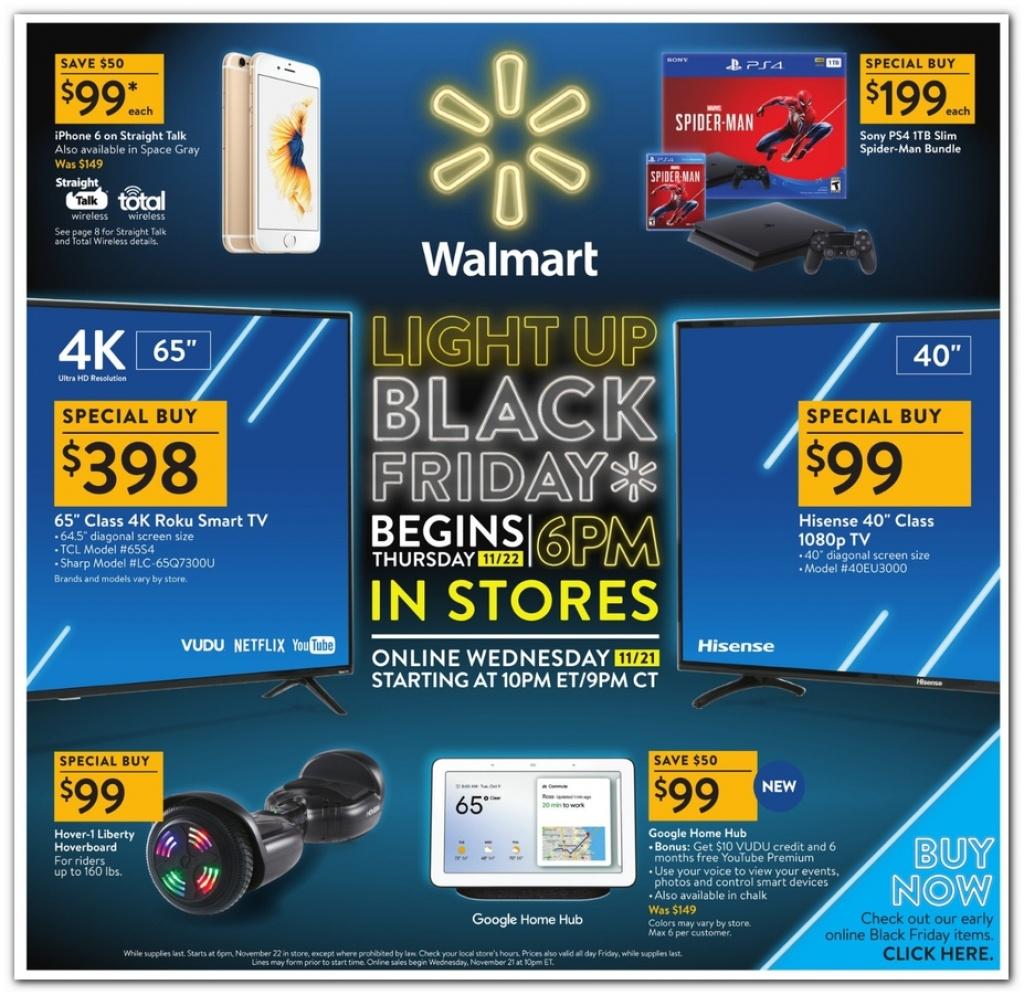 Walmart Black Friday 2019 Ad, Deals And Sales - Printable Walmart Black Friday Map