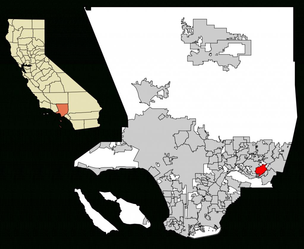 Walnut, California - Wikipedia - Walnut California Map