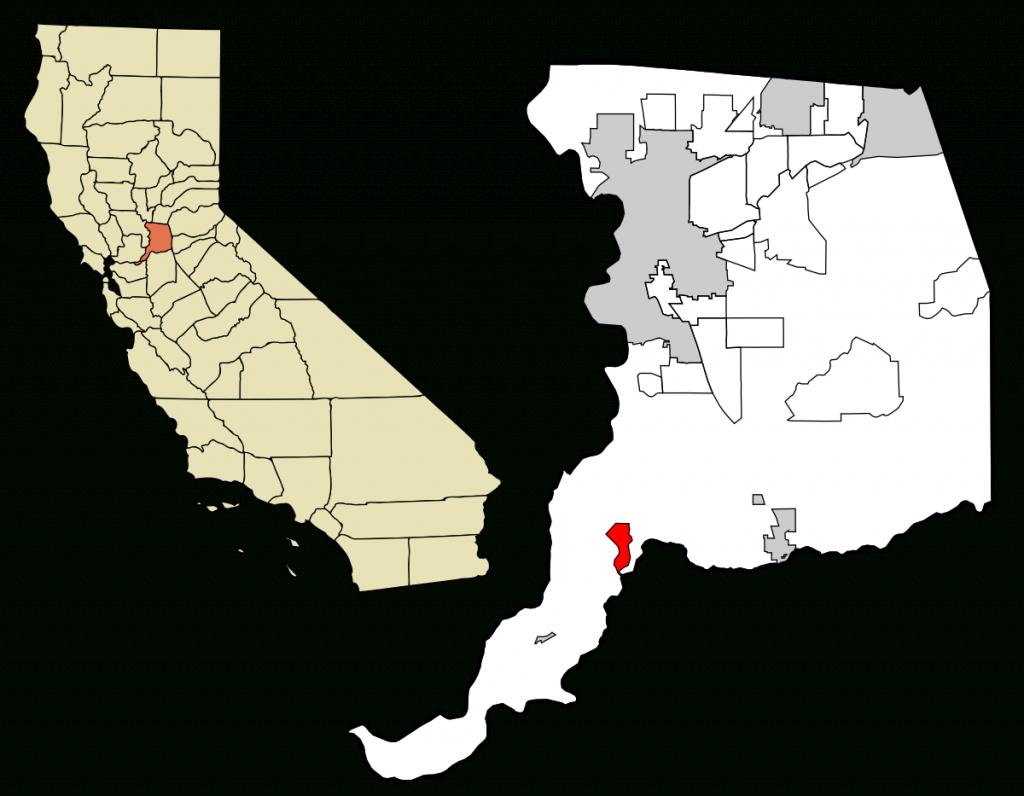 Walnut Grove, California - Wikipedia - Walnut California Map