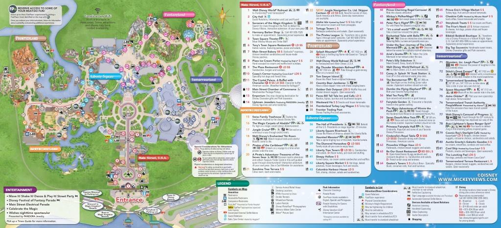 Walt Disney World Maps - Disney Florida Maps 2018