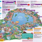 Walt Disney World Park And Resort Maps   Epcot Guidemap January 2013   Epcot Park Map Printable