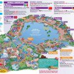 Walt Disney World Park And Resort Maps   Epcot Guidemap January 2013   Epcot Park Map Printable
