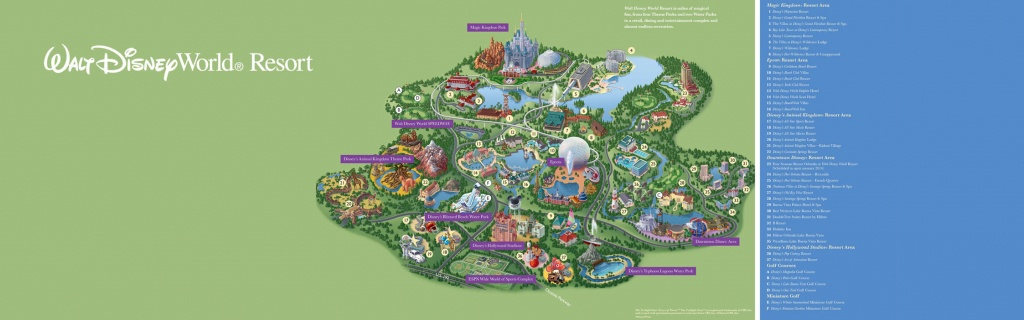 Walt Disney World® Resort Map- Wyndham Lake Buena Vista - Hotel Near - Disney Hotels Florida Map