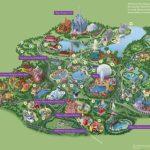 Walt Disney World® Resort Map  Wyndham Lake Buena Vista   Hotel Near   Disney Springs Florida Map