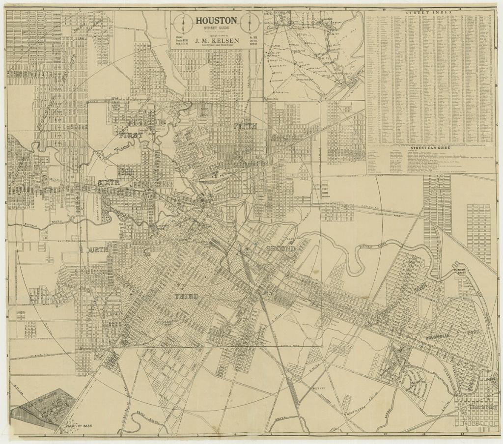 Wards Of Houston - Wikipedia - Show Map Of Houston Texas
