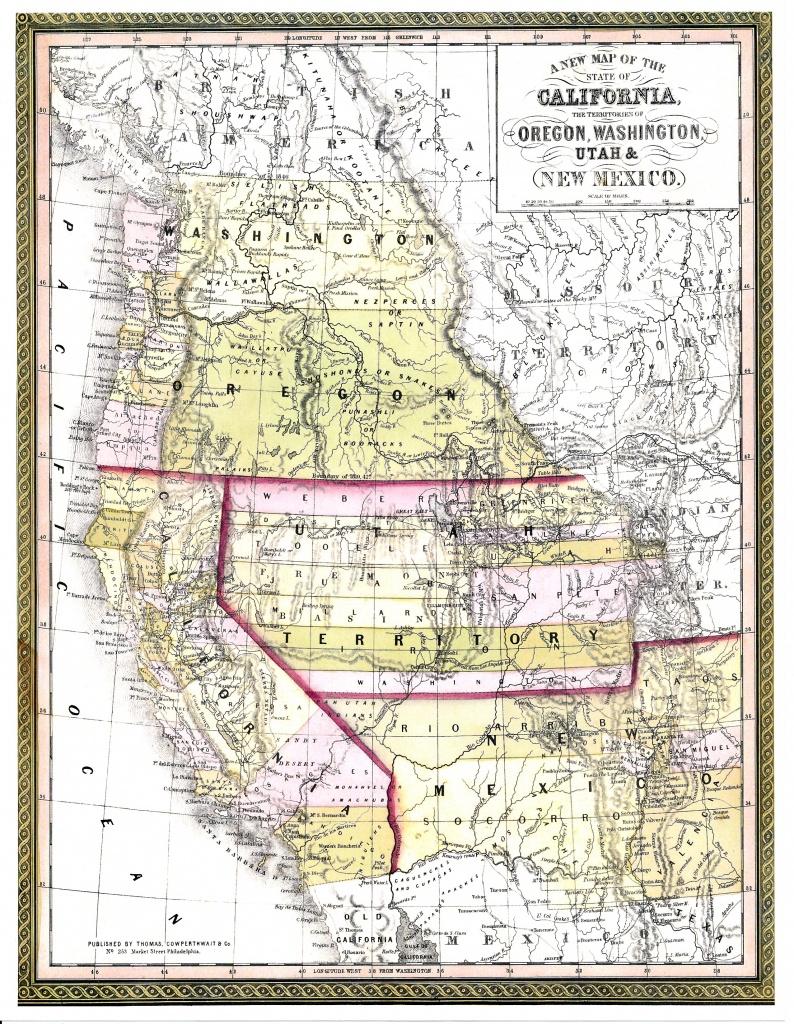 Washington County Maps And Charts - Spg California Map