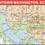 Washington, D.c. Downtown Bike Map   Printable Map Of Downtown Dc