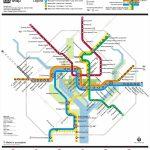 Washington, D.c. Metro Map   Printable Dc Metro Map