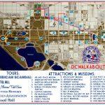 Washington Dc Tourist Map | Tours & Attractions | Dc Walkabout   Printable Map Of Washington Dc Attractions