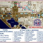 Washington Dc Tourist Map | Tours & Attractions | Dc Walkabout   Tourist Map Of Dc Printable