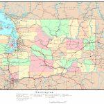 Washington Political Map - Printable Map Of Washington State