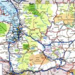 Washington Road Map - Printable Map Of Washington State