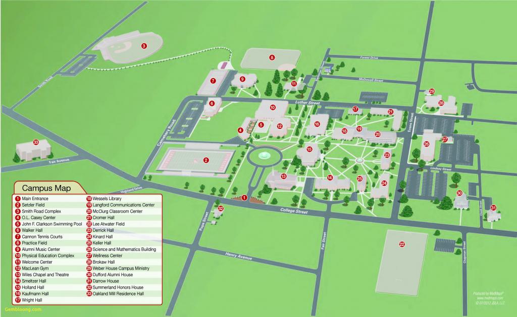 Washington University Map Us Campus Map Beautiful California - California University Of Pa Campus Map