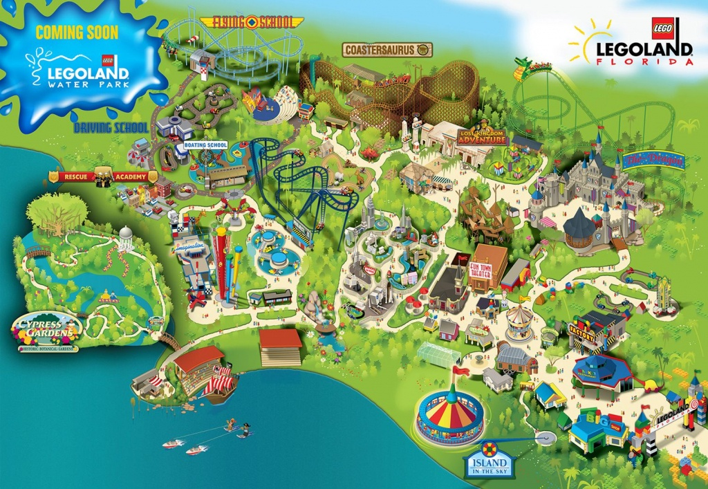 Water Parks | The Water Park Combo Ticket Is Valid Only For The - Legoland Florida Hotel Map