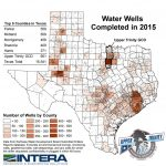 Water Well Reportcounty   Upper Trinity Groundwater Conservation   Texas Water Development Board Well Map