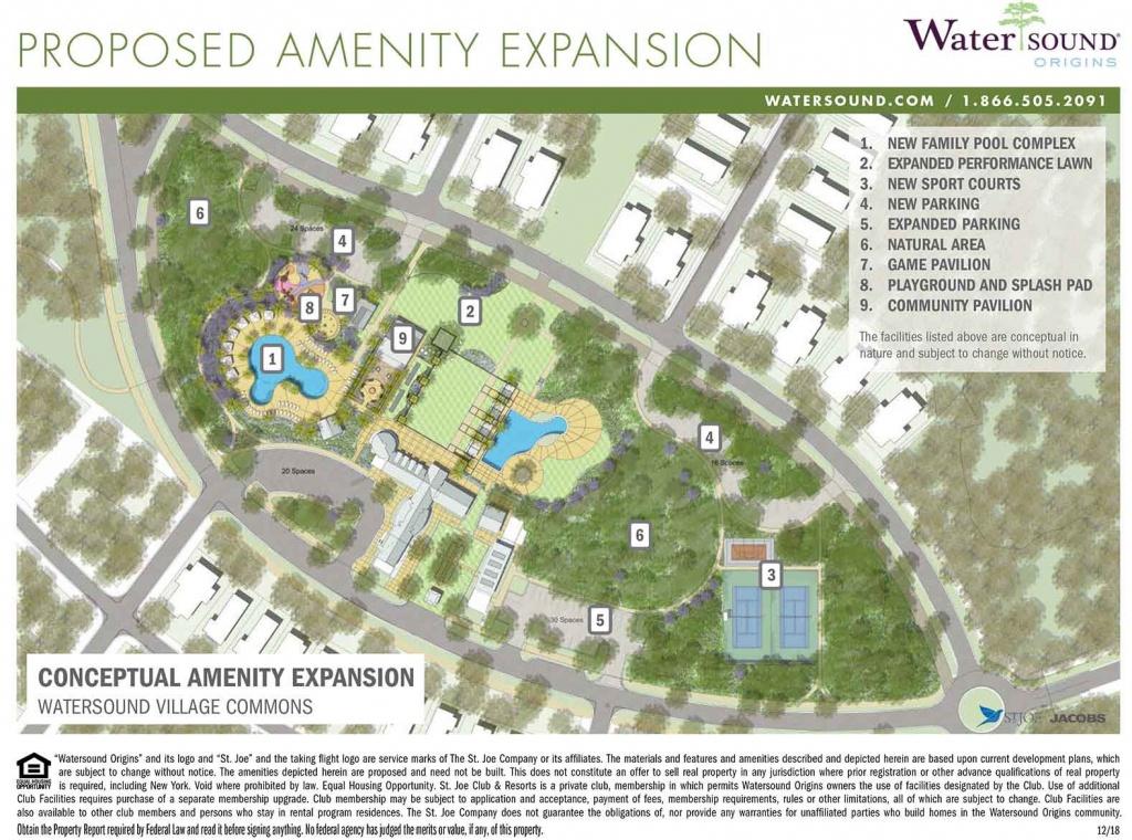 Watersound Origins - Watersound Florida Real Estate - Watersound Florida Map