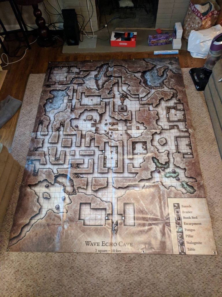 Wave Echo Cave Full-Size Map : Dnd - Wave Echo Cave Map Printable