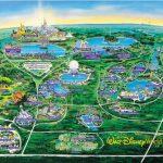 Wdw Wall Map And Walt Disney World Besttabletfor Me Within Resorts   Walt Disney Florida Map