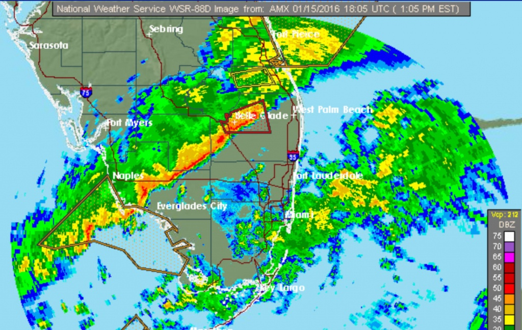 Weather Map Naples Florida | Stadslucht - Florida Radar Map