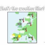 Weather Map Worksheet   Free Esl Printable Worksheets Madeteachers   Free Printable Weather Map Worksheets