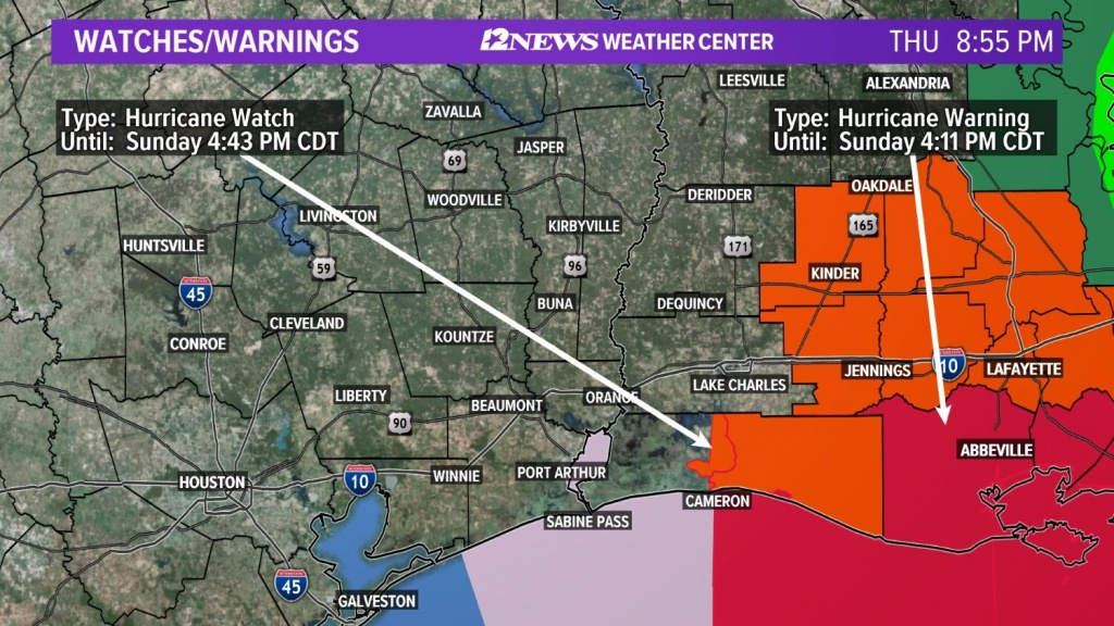 Weather Maps On 12News In Southeast Texas - Texas Weather Map Today