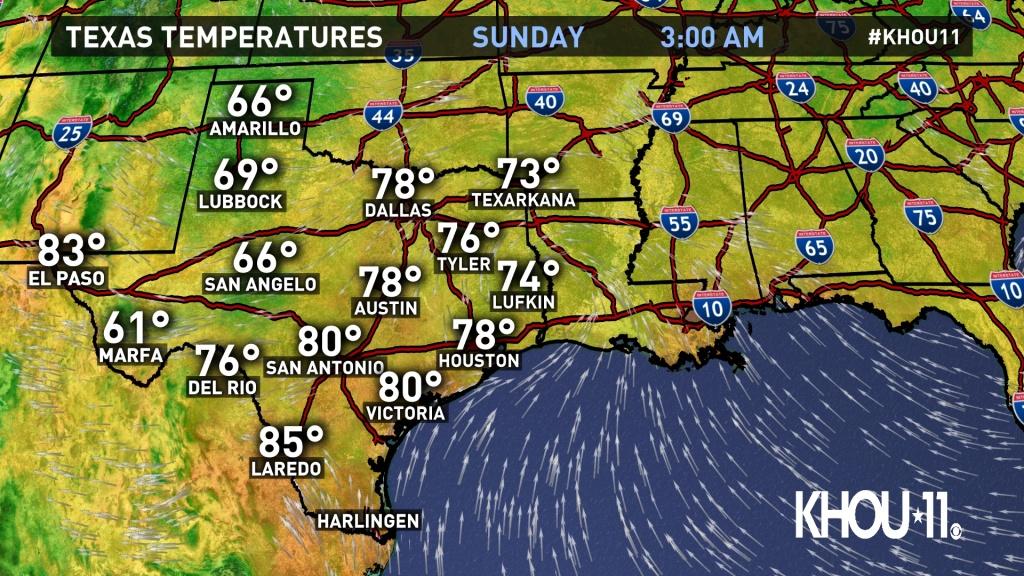 Weather Maps On Khou In Houston - Texas Weather Radar Maps Motion