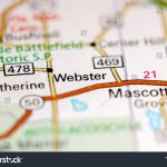 Webster Florida Usa On Map Stock Photo (Edit Now) 1120492133   Webster Florida Map