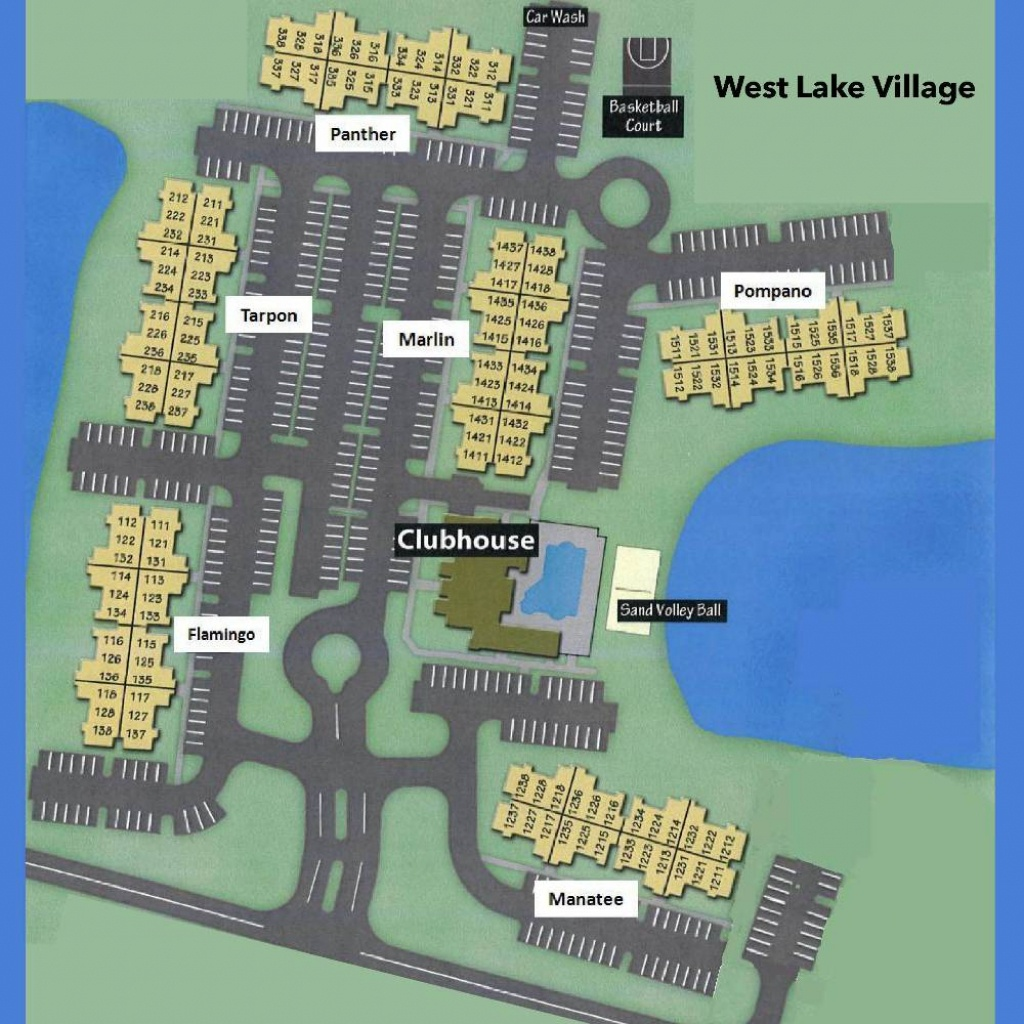 West Lake Village - Florida Gulf Map