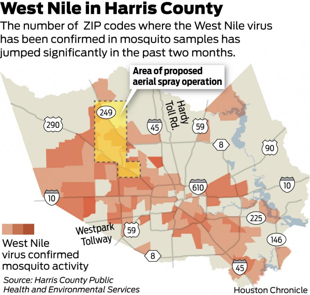 West Nile Virus Texas Zip Code Map | Stadslucht - West Nile Virus Texas Zip Code Map