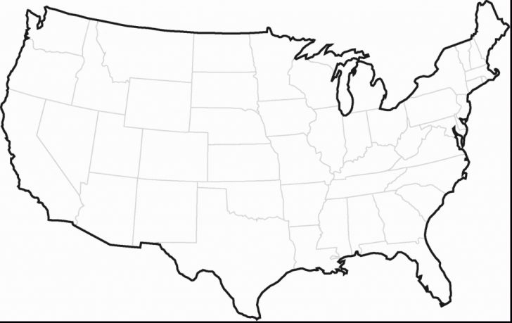 United States Regions Map Printable
