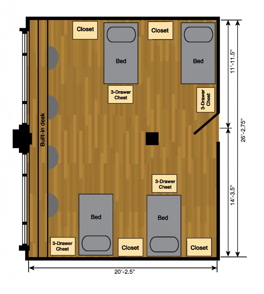 Weymouth Hall | Halls | Housing | Ttu - Texas Tech Housing Map