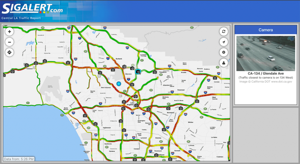 What Is A Sig Alert And How Can It Help You Avoid Traffic? - California Traffic Conditions Map