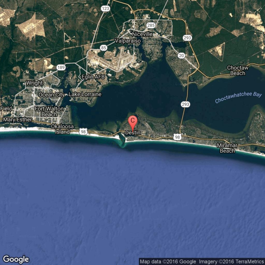 What Is The Closest Major Airport To Destin, Florida?   Getaway Usa - Panama City And Destin Florida Map