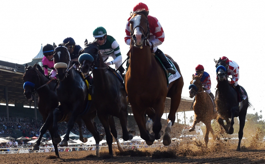 What Is The Future Of Horse Racing In Southern California? – Daily News - Horse Race Tracks In California Map