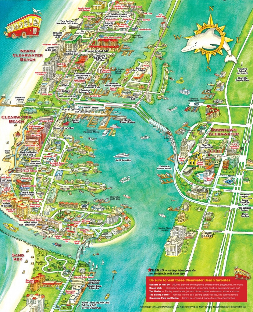 What To Do In Clearwater, Florida | Florida | Clearwater Beach - Clearwater Beach Florida Map Of Hotels