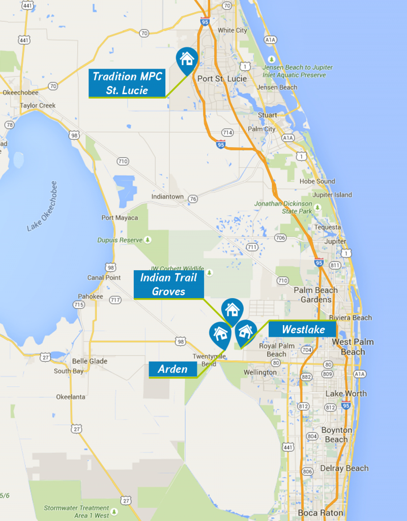 Where Do We Grow? | John Burns Real Estate Consulting - Westlake Florida Map