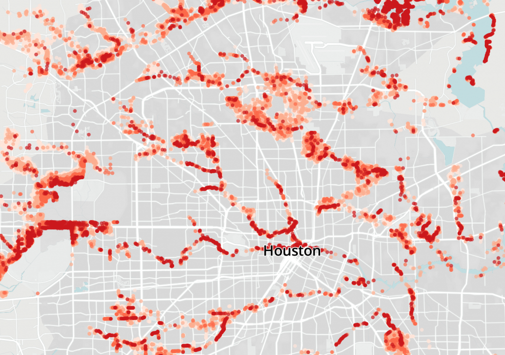 Where Harvey's Effects Were Felt The Most In Texas | The Texas Tribune - Fema Flood Maps Texas