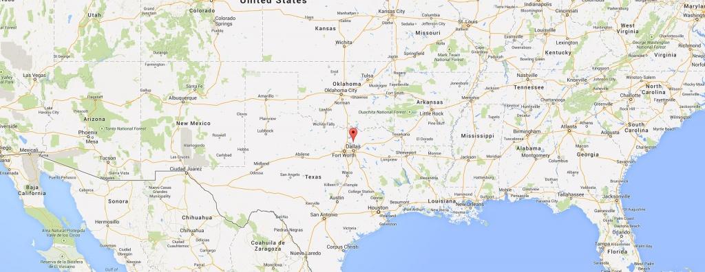 Where Is Frisco Texas? - Frisco Texas Map