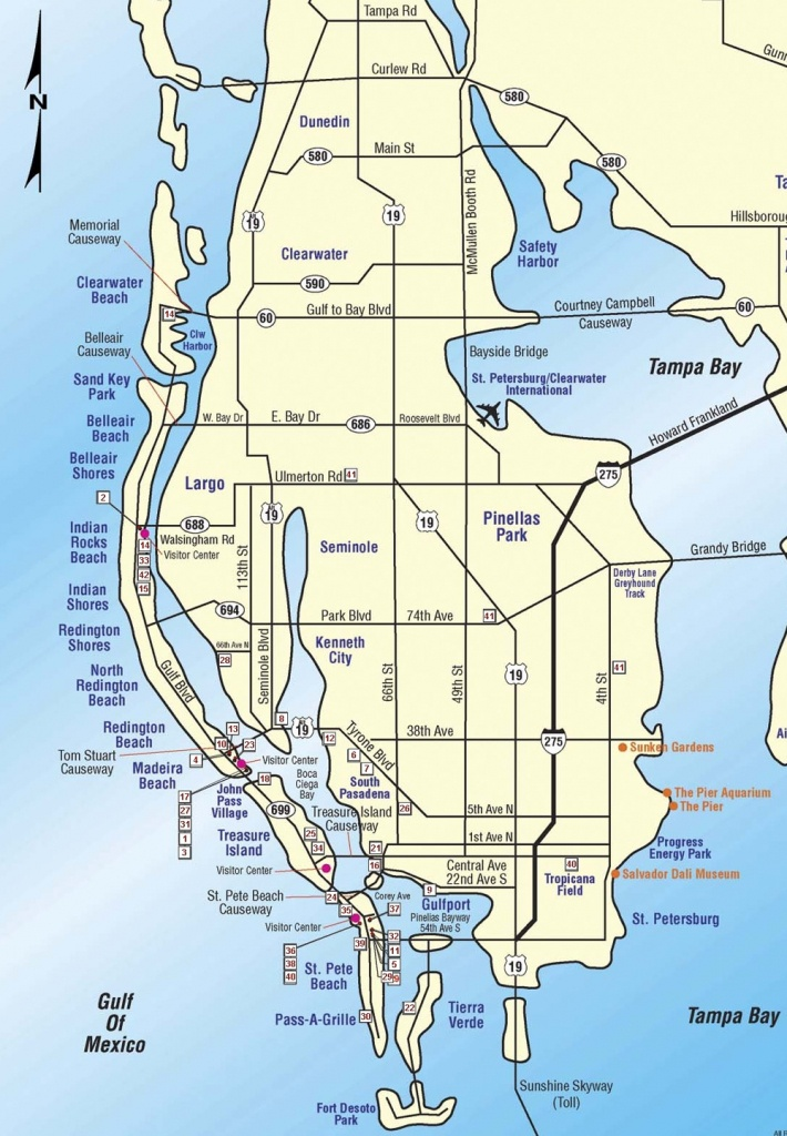 While You're Away Home Watch Services - Redington Beach Florida Map