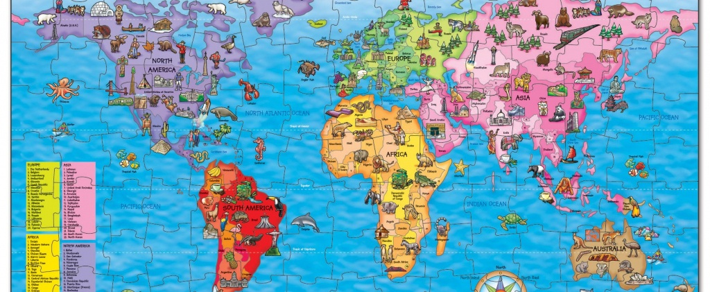 Win A World Map Jigsaw Puzzle | National Geographic Kids - National Geographic World Map Printable
