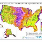 Wind Maps | Geospatial Data Science | Nrel   Florida Wind Speed Map