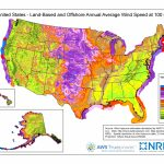 Wind Maps | Geospatial Data Science | Nrel   Wind Farms Texas Map