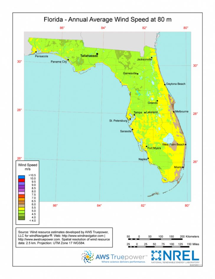 Florida Power Grid Map