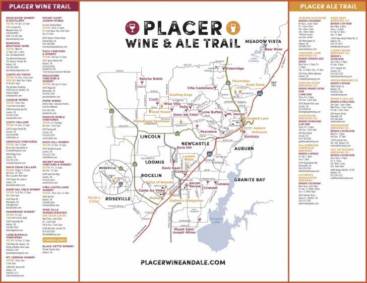 California Wine Trail Map