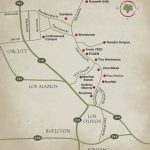 Wine Trail Map — Foxen Canyon Wine Trail - California Wine Trail Map