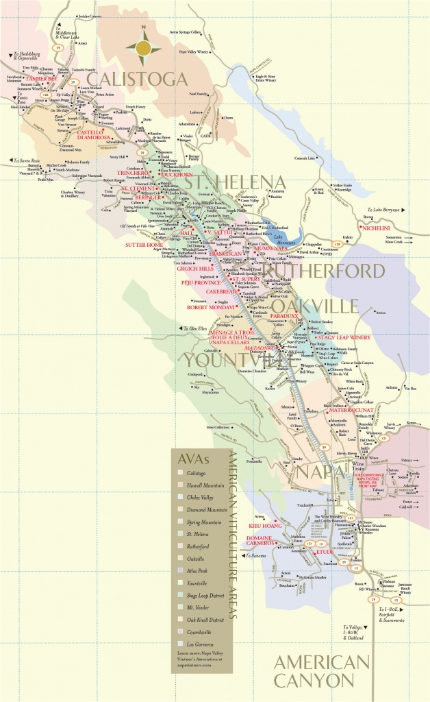 Wineries In Southern California Map Napa Valley Winery Map Fresh - Napa Valley California Map