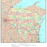 Wisconsin Political Map   Printable Map Of Downtown Madison Wi