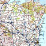 Wisconsin Road Map   Printable Map Of Wisconsin Cities