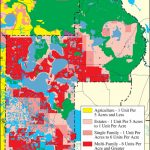 Withlacoochee River Watershed Distribution Of Generalized Future - Map Of Lake County Florida
